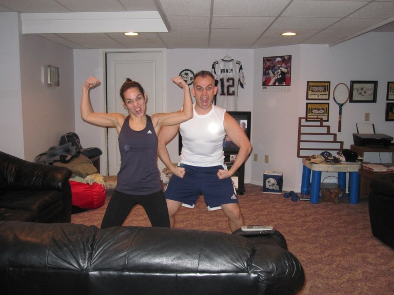 Day 1 of 2013, Day 1 of Les Mills Combat (w/ Tay)!
