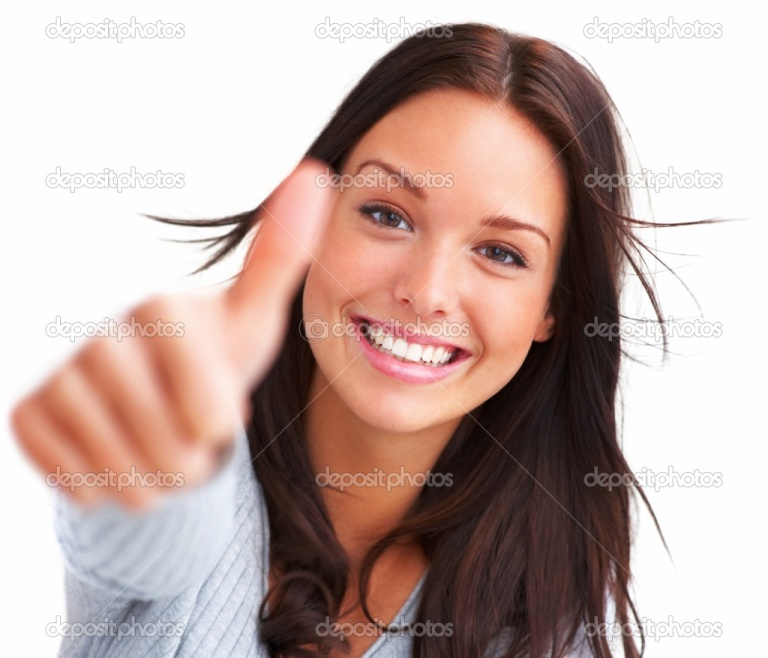 depositphotos_3299705-Portrait-of-attractive-young-female-showing-a-thumbs-up-on-white