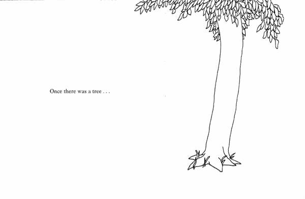 Tree Shel Silverstein Quote: The Branding Tree