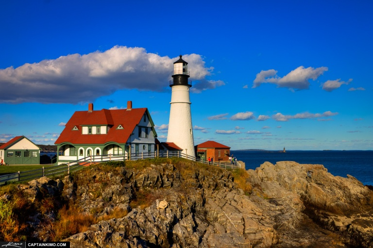 Fort Williams Cape Elizabeth Lighthouse Portland