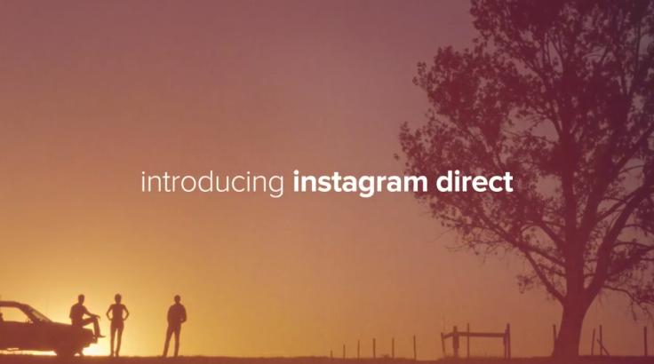 Instagram, Instagram Direct, Introducing Instagram direct