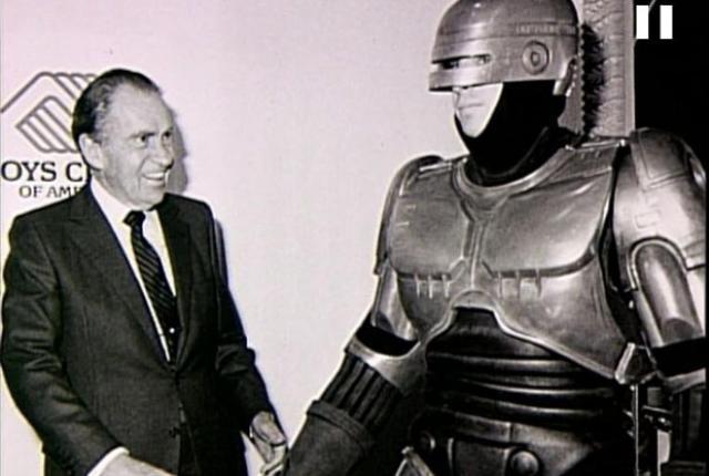 RoboCop meets Richard Nixon