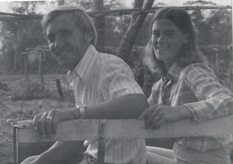 Calvin and Jan - Bolivia 1980.png